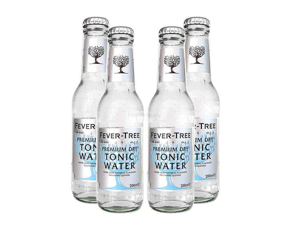 Fever-Tree Premium Dry Tonic Water 4x 0,2l MEHRWEG inkl. Pfand
