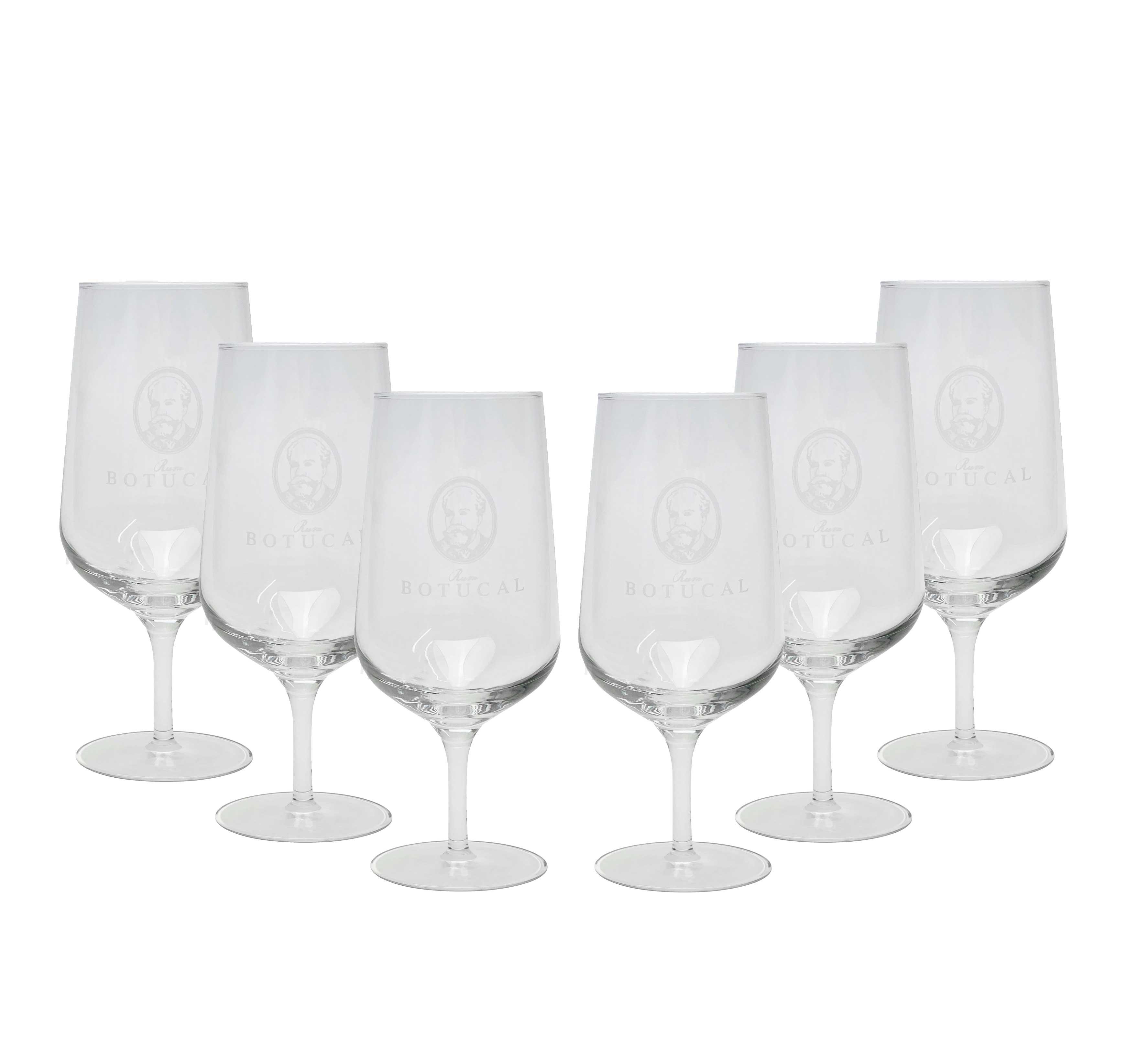 Botucal Rum Nosing Glas Gläser Set Ron de Venezuela Glas Longdrinkglas - 6x Gläser