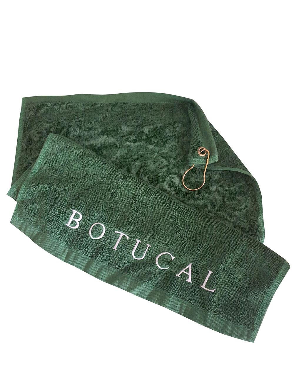 Botucal Golfhandtuch / Schlägertuch / Handtuch mit Karabina Hacken