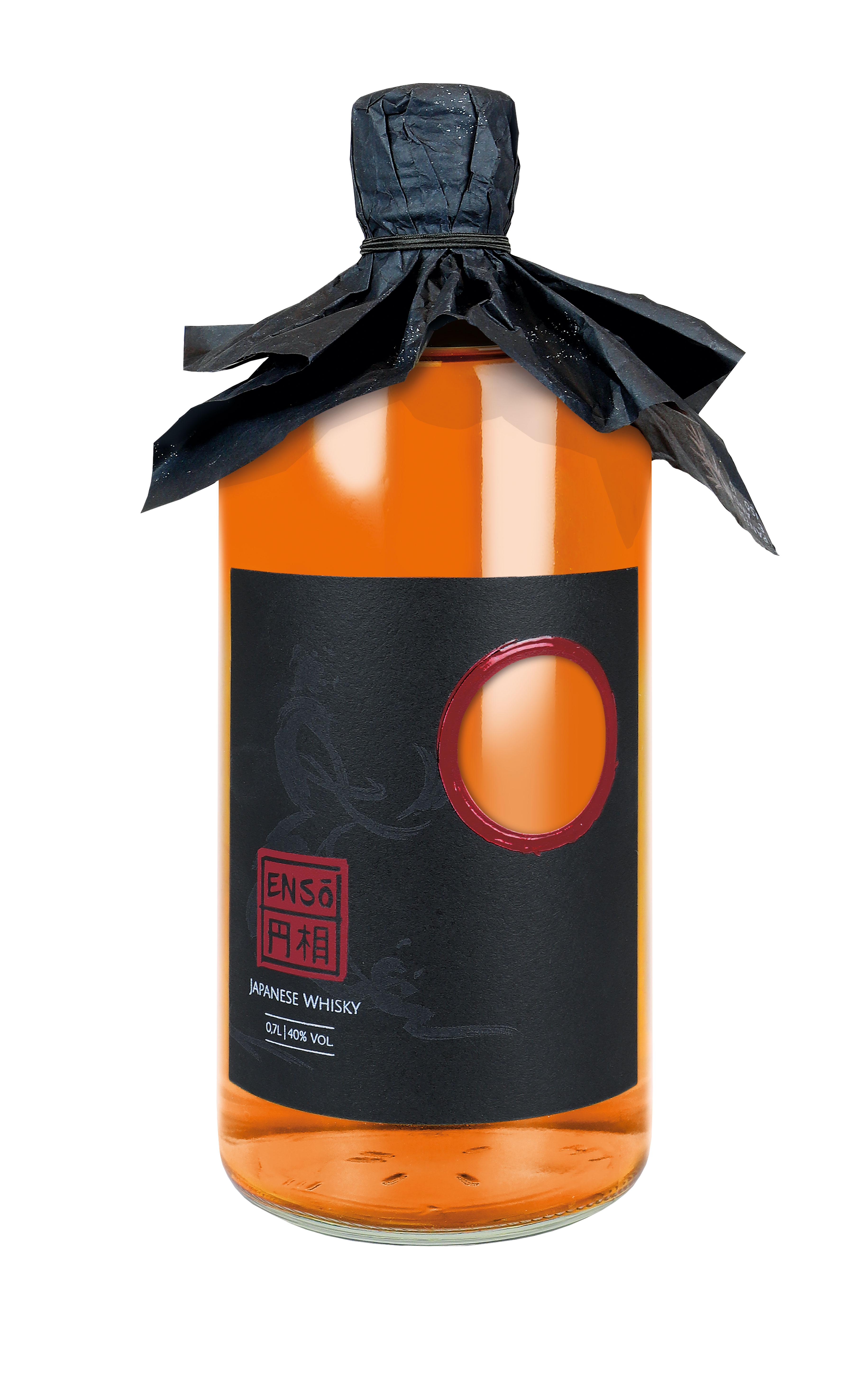 Enso Pot Still Blend Whisky 0,7l (40% Vol) japanischer Whiskey - [Enthält Sulfite]