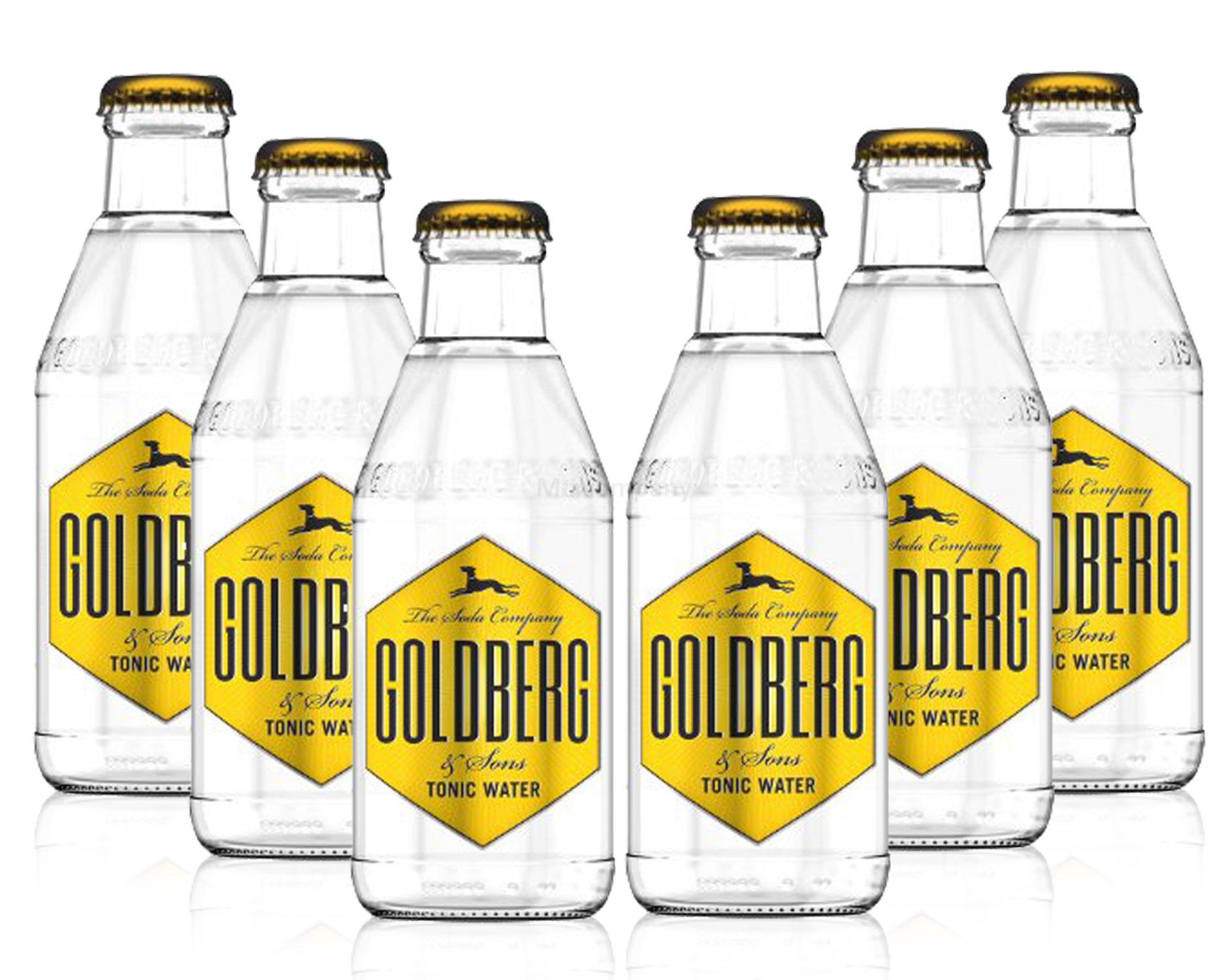 Goldberg Tonic Water Set - 6x 200ml inkl. Pfand MEHRWEG