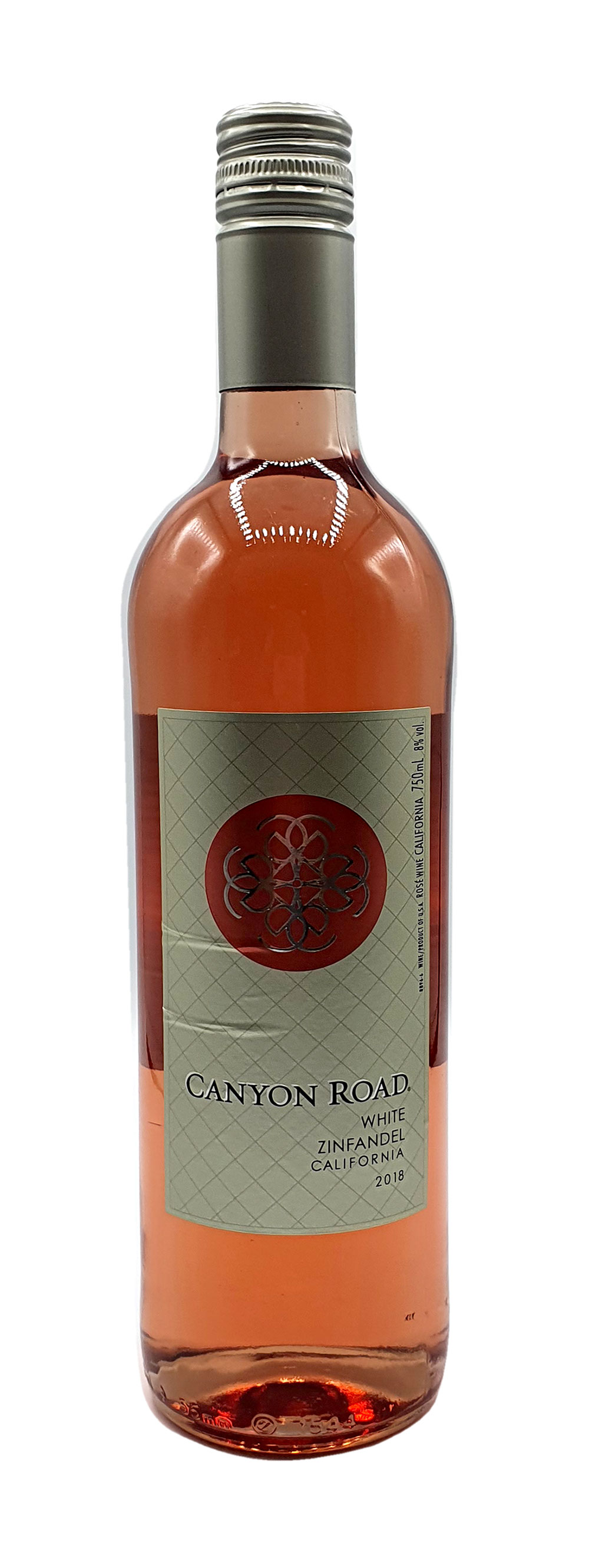 Rose Wein - Canyon Road Zinfandel 750ml (8% Vol)- [Enthält Sulfite]