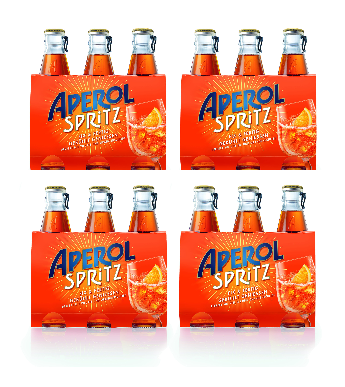 Aperol Spritz 12x 17,5cl (10,5% Vol) ready to drink Aperitivo / Aperitif - [Enthält Sulfite]