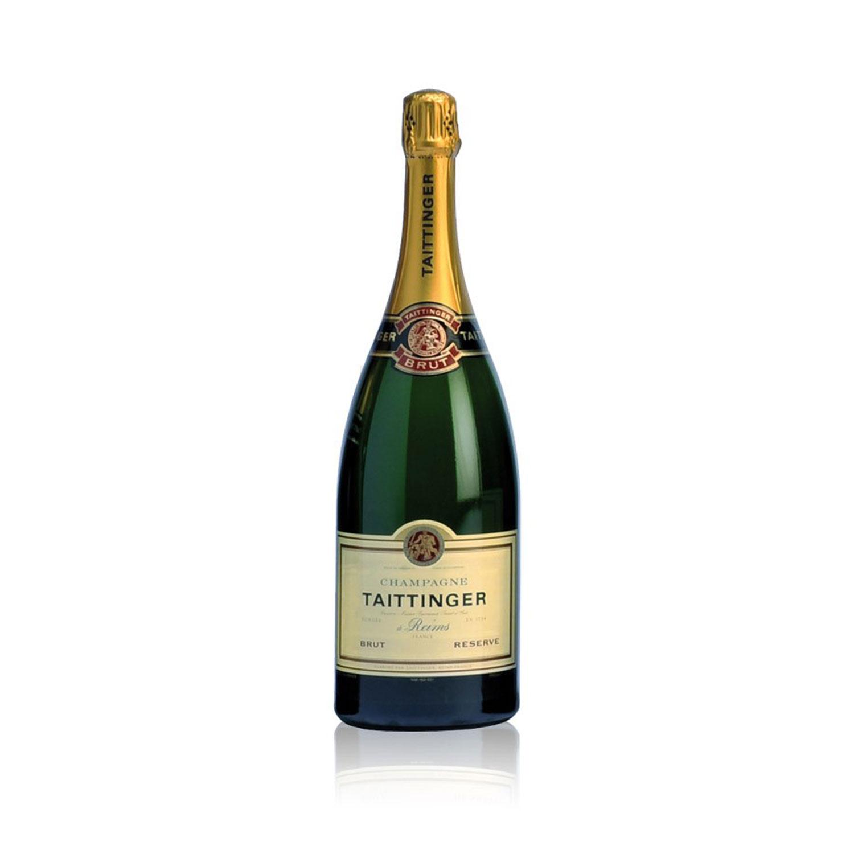 Taittinger Brut Reserve Magnum Champagner 1,5l (12% Vol) -[Enthält Sulfite]