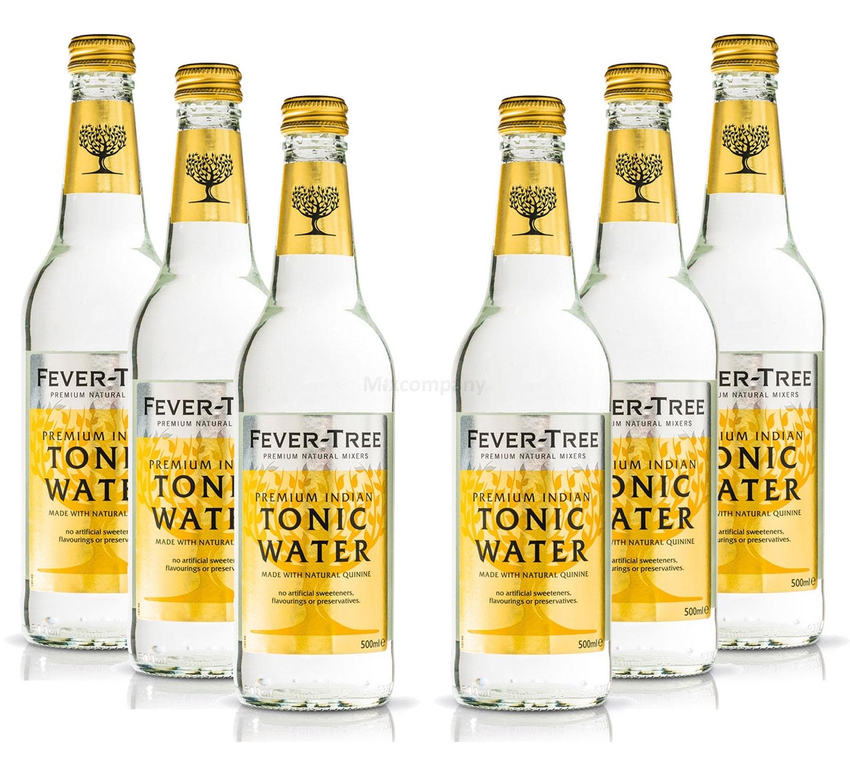 Fever-Tree Premium Indian Tonic Water 6x 500ml = 3000ml - Inkl. Pfand MEHRWEG