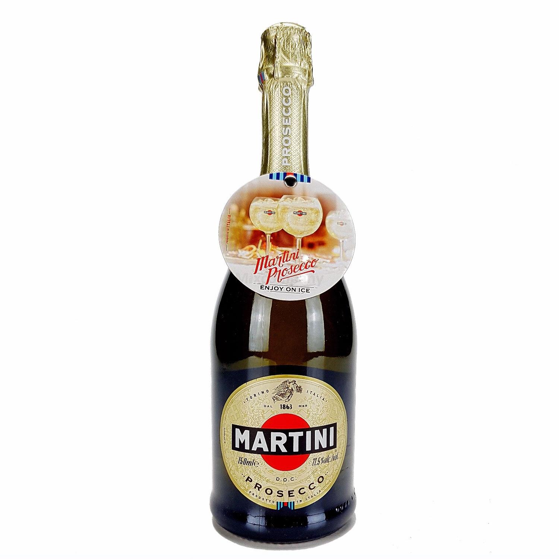 Martini D.O.C. Prosecco 750ml 0,75l (11,5% Vol) -[Enthält Sulfite]