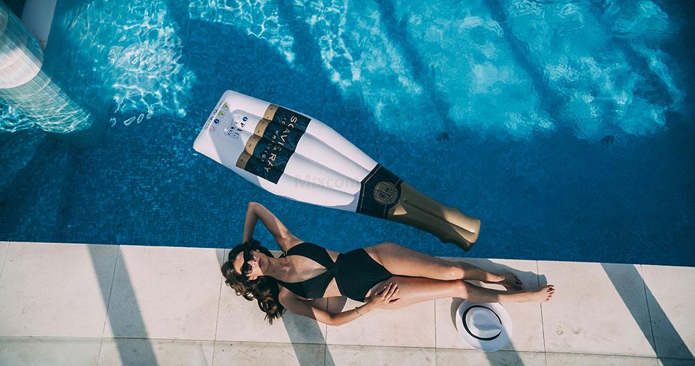 Scavi & Ray Luftmatte Ice Prestige Sonnenliege Schwimmmatratze Matratze Wasser Pool Sommer