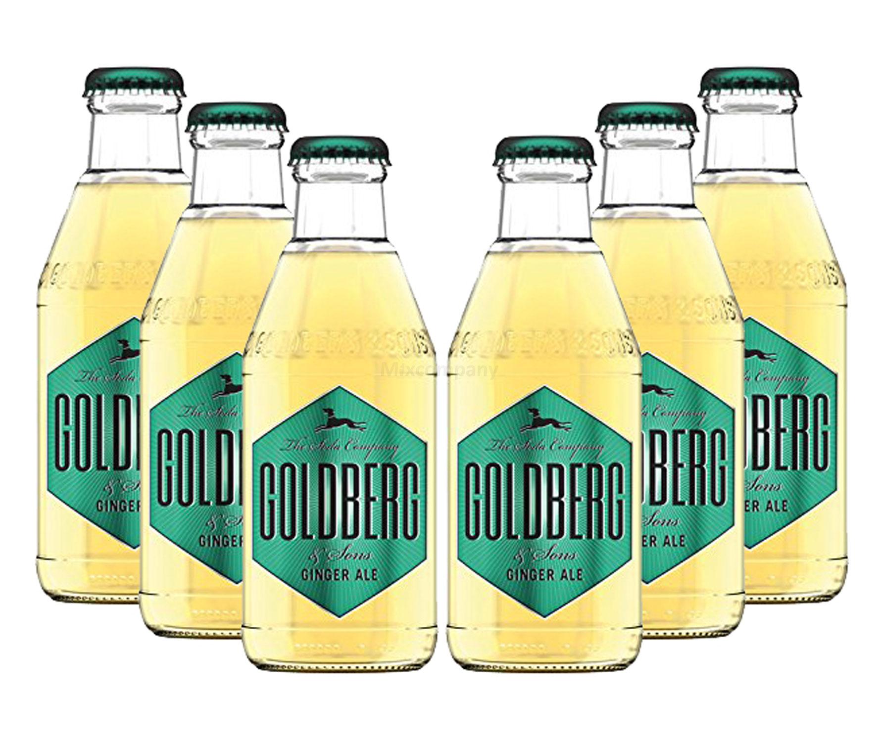 Goldberg Ginger Ale - 6x200ml = 1200ml - Inkl. Pfand MEHRWEG