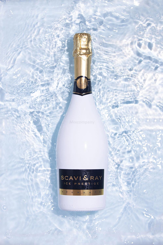 Scavi & Ray ICE Prestige Spumante Cuvee 0,75l (10,5% Vol) + 2x ICE Gläser -[Enthält Sulfite]