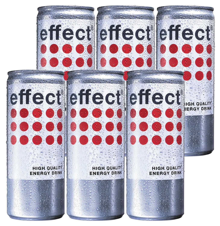 Effect High Quality Energy Drink - 6x250ml = 1500ml