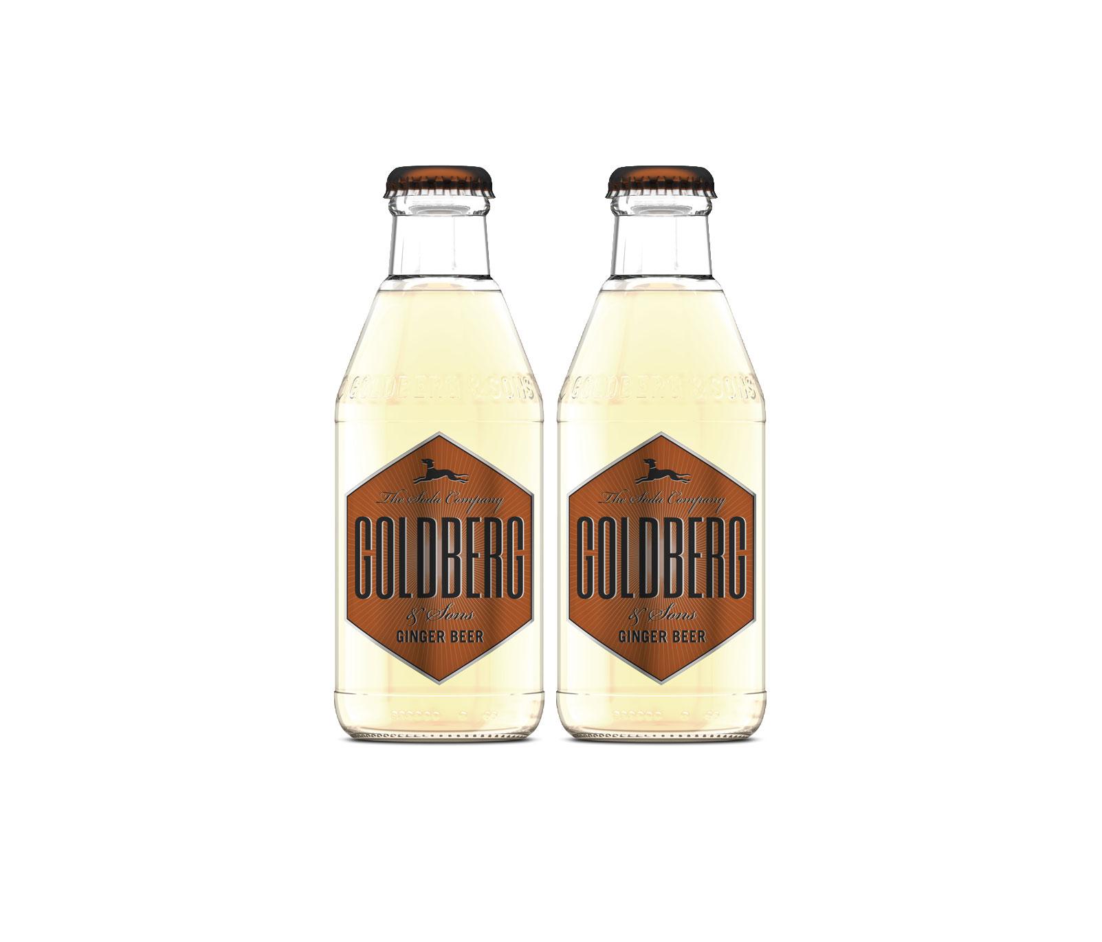 Goldberg Ginger Beer 2er Set - 2x200ml inkl. Pfand MEHRWEG