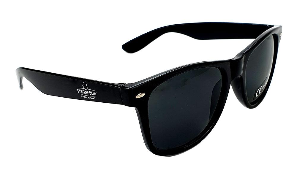 Strongbow Sonnenbrille- Brille / Partybrille in schwarz