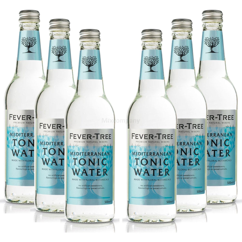 Fever-Tree Mediterranean Tonic Water 6x 500ml = 3000ml - Inkl. Pfand MEHRWEG