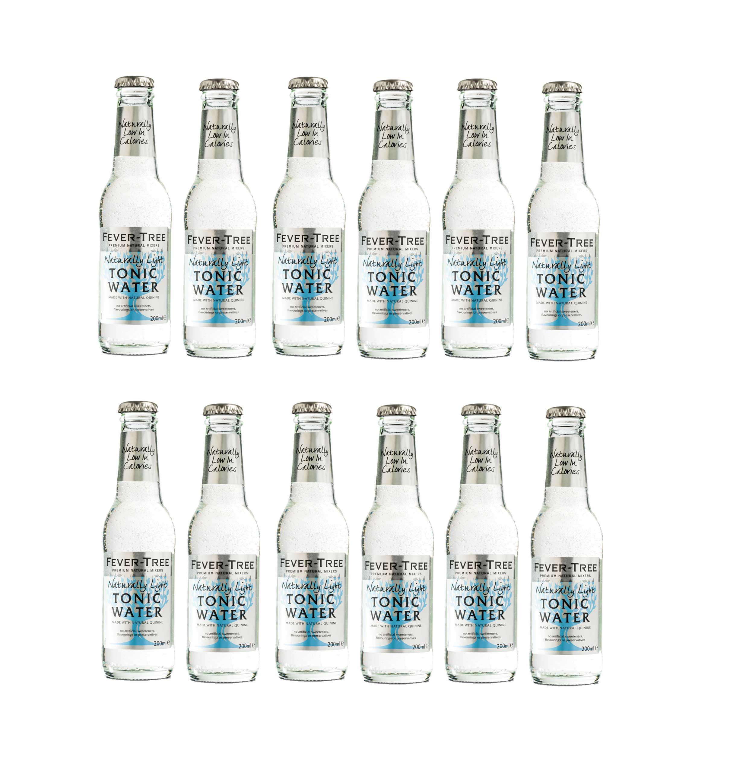 Fever Tree premium Dry Tonic Water Set - 12er Set 200ml inkl. Pfand MEHRWEG
