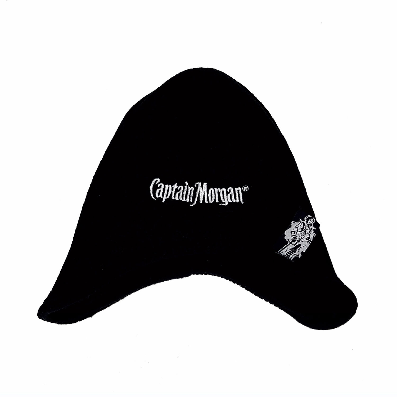 Captain Morgan Mütze schwarz - 100 Prozent Acryl - Universal Größe