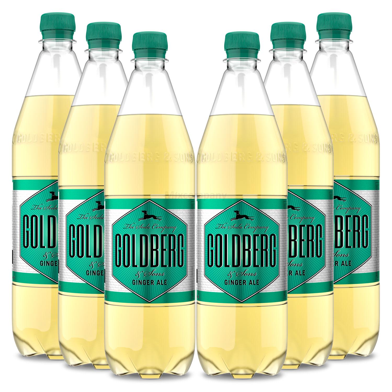 Goldberg Ginger Ale - 6x1L = 6L - Inkl. Pfand MEHRWEG