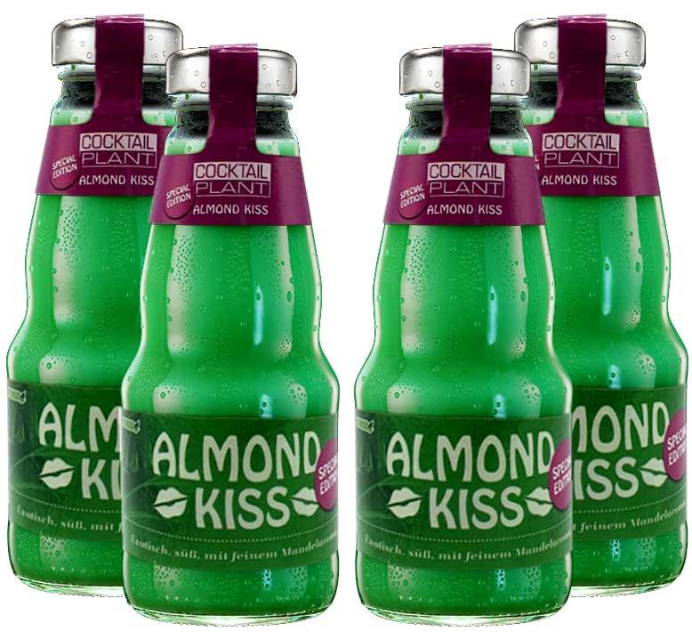 Cocktail Plant 4er Set Almond Kiss (10,1% Vol) special edition 4x0,2l - inkl. Pfand MEHRWEG - [Enthält Sulfite]