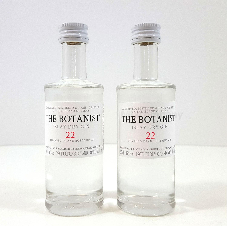 Gin Probierset - 2x The Botanist Islay Dry Gin 50ml (46% Vol) - Inkl. Pfand MEHRWEG