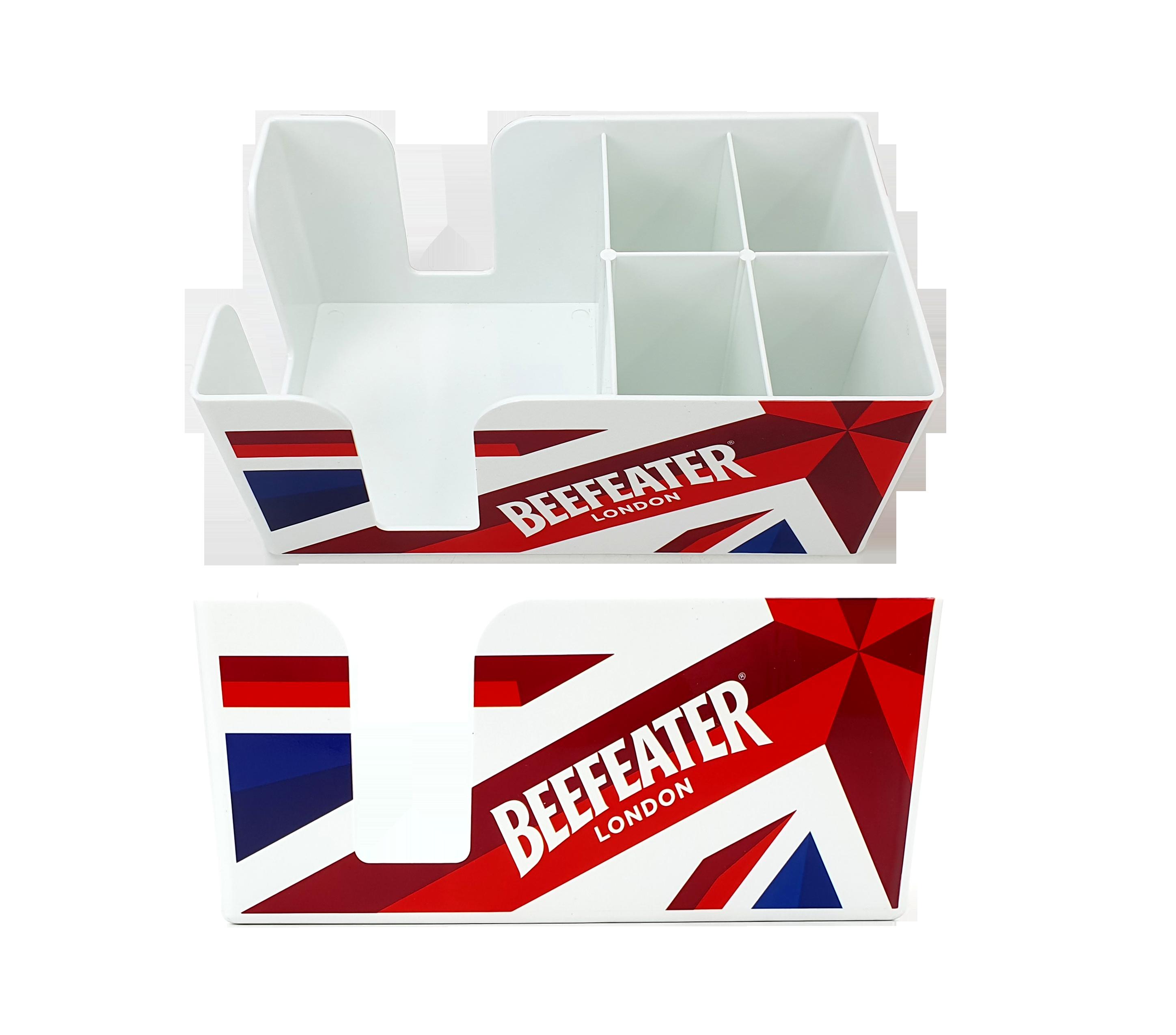 Beefeater Bar Caddy - Barzubehör / Serviettenhalter / Strohhalmhalter