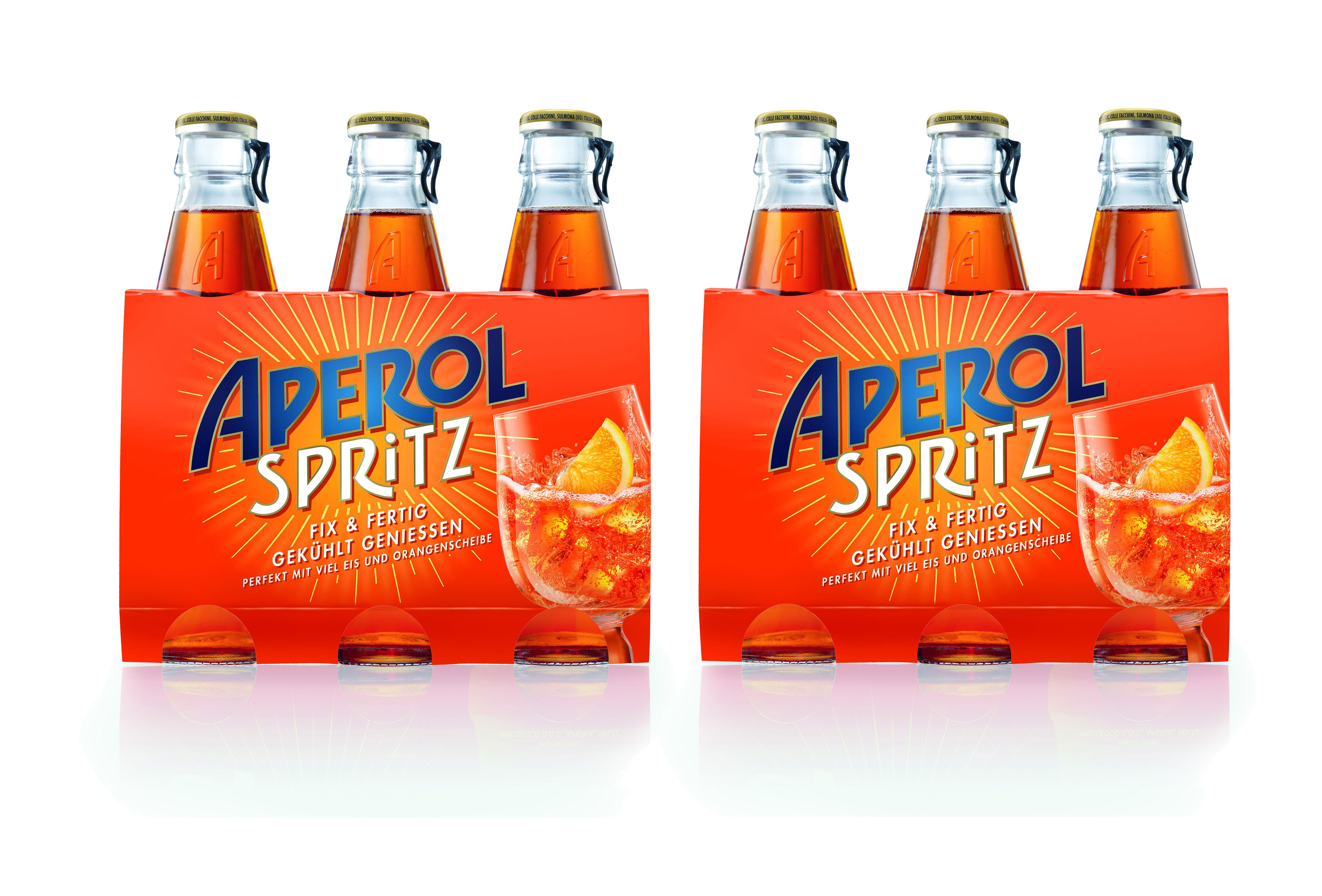 Aperol Spritz 6x 17,5cl (10,5% Vol) ready to drink Aperitivo / Aperitif - [Enthält Sulfite]