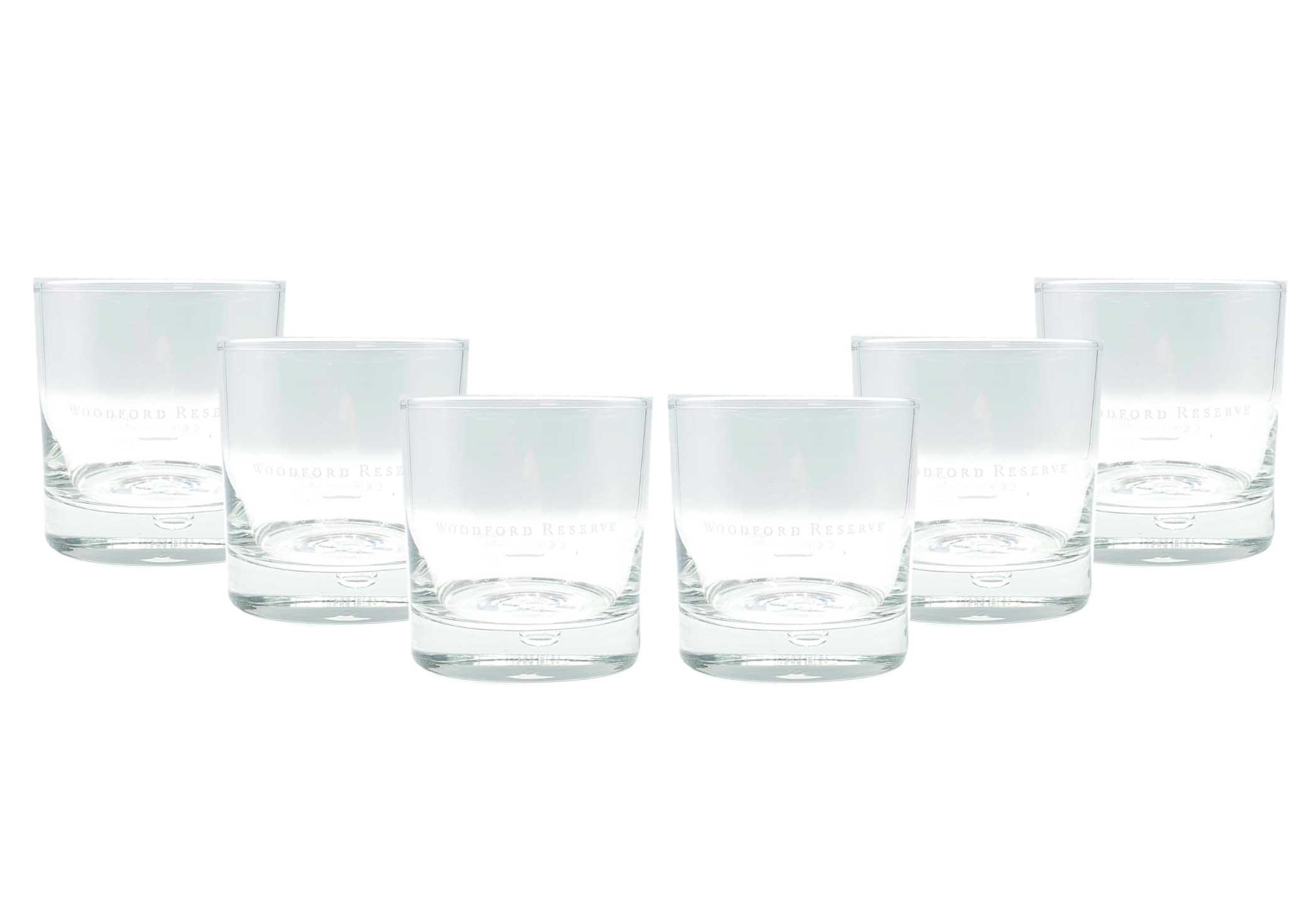 Woodford Reserve Whisky Glas Gläser 6er Set Tumbler