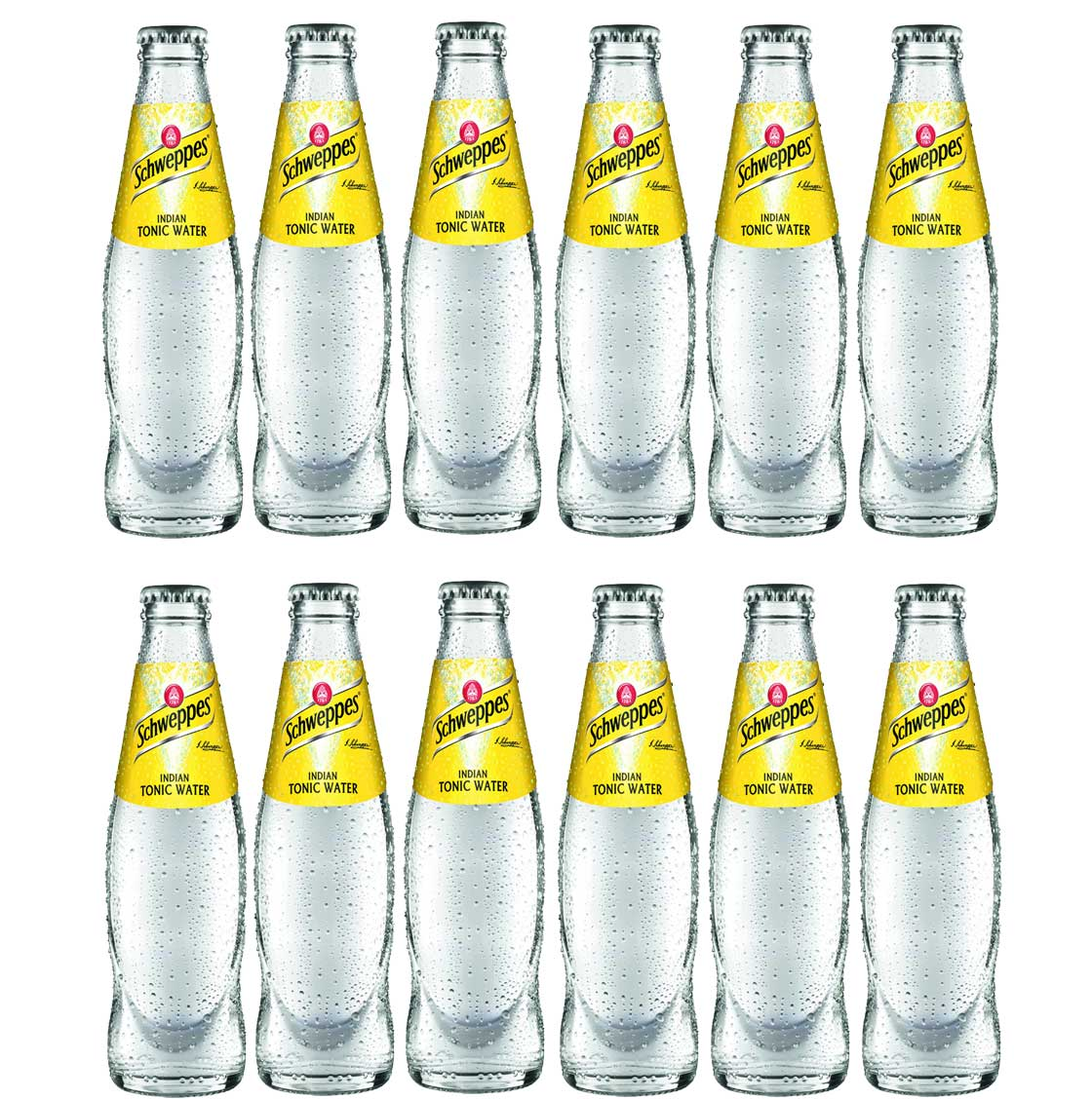 Schweppes Indian Tonic Water 12er Set 200ml inkl. Pfand MEHRWEG