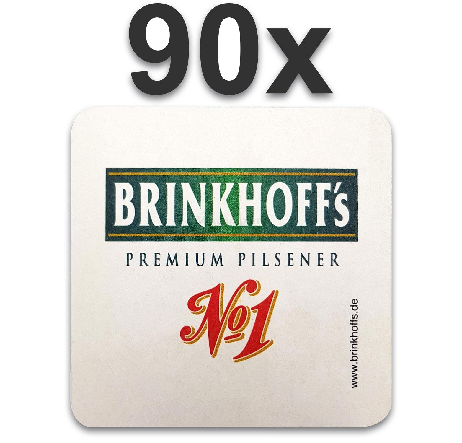 Brinkhoffs Bierdeckel Untersetzer Bierfilz - 90er Packung
