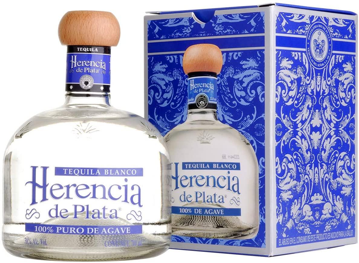 Herencia de Plata Blanco Tequila 0,7L (38% Vol)- [Enthält Sulfite]