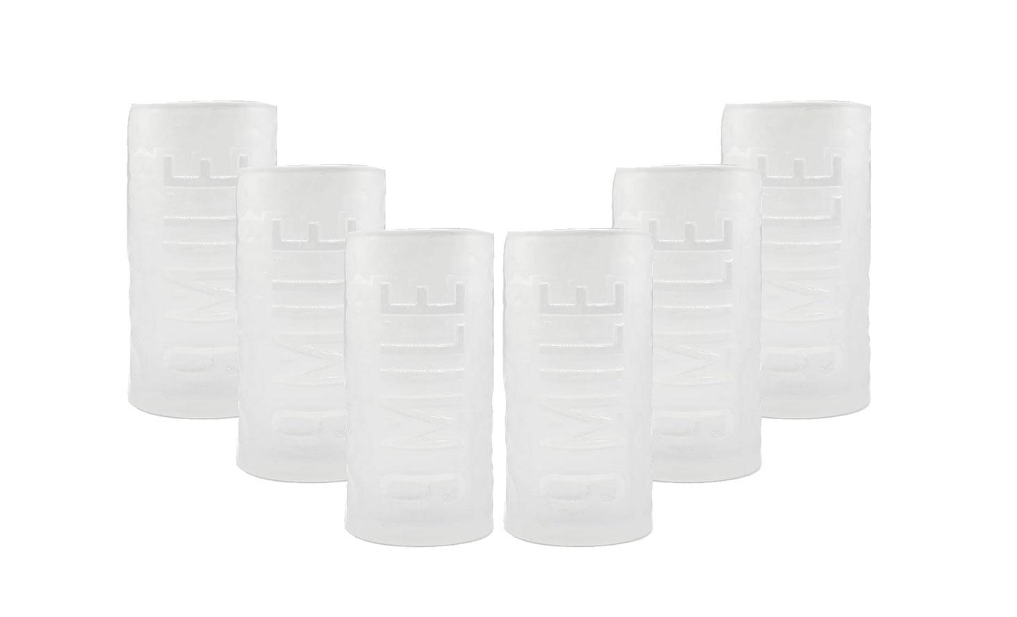 9 Mile - Longdrinkglas / Longdrink Glas / Milchglas  Gläser Set - 6x Longdrinkgläser