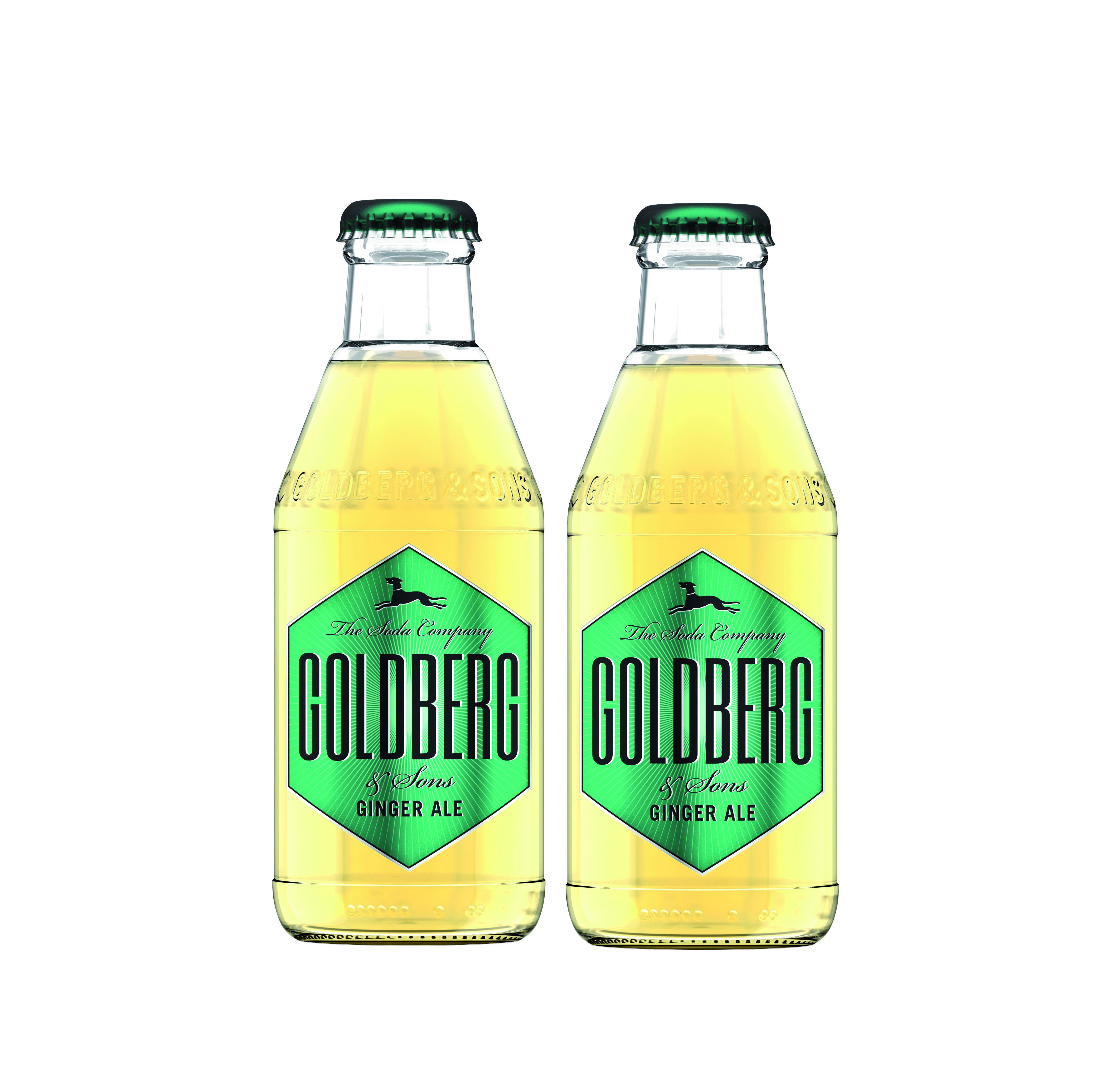 Goldberg Ginger Ale 2er Set - 2x200ml Inkl. Pfand MEHRWEG