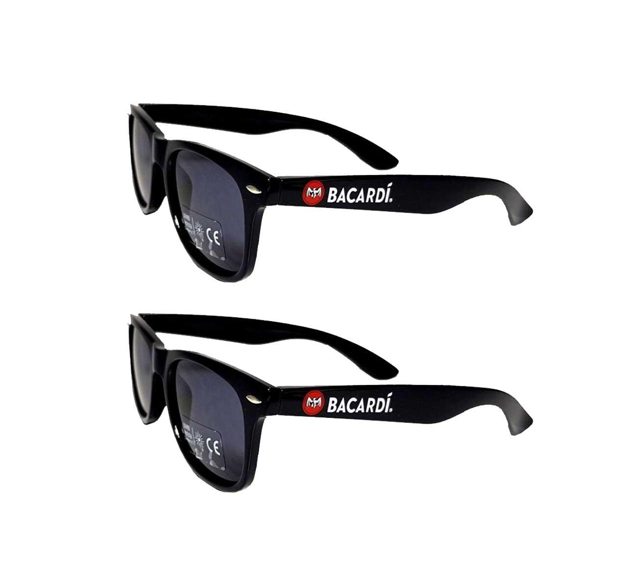 Bacardi Sonnenbrille Partybrille Nerd Brille Aktion - 2 Stück