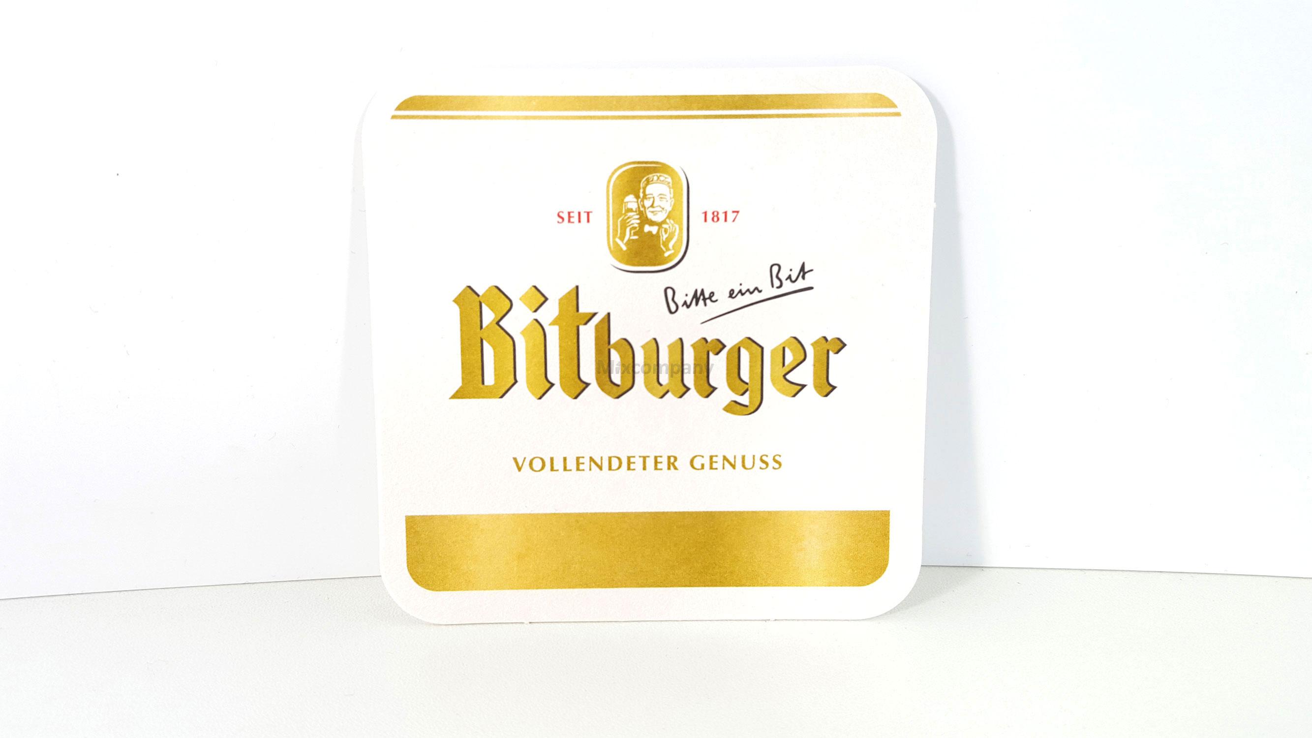 Bitburger Bierdeckel - 375 Stück