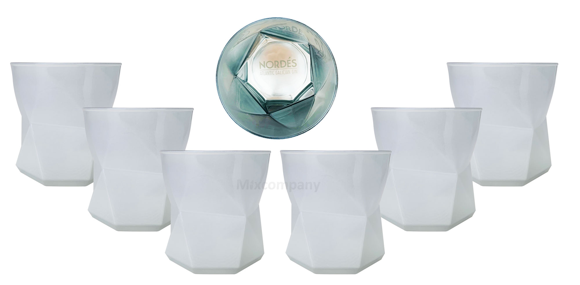 Nordes Atlantic Galician Gin Glas Tumbler Set - 6X Gläser