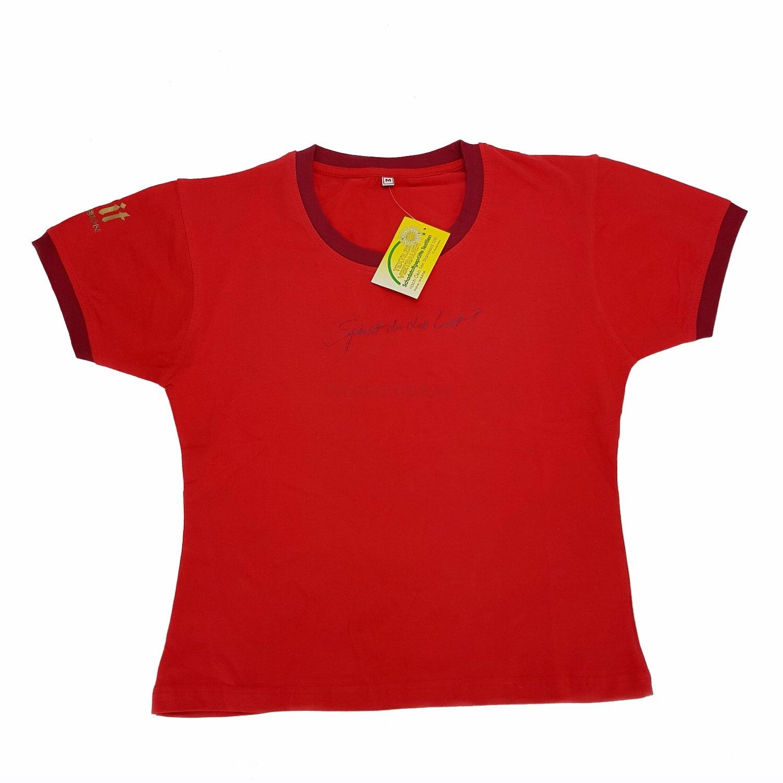 Bitburger T-Shirt rot - Größe M (95 Baumwolle / 5 Elasthan)