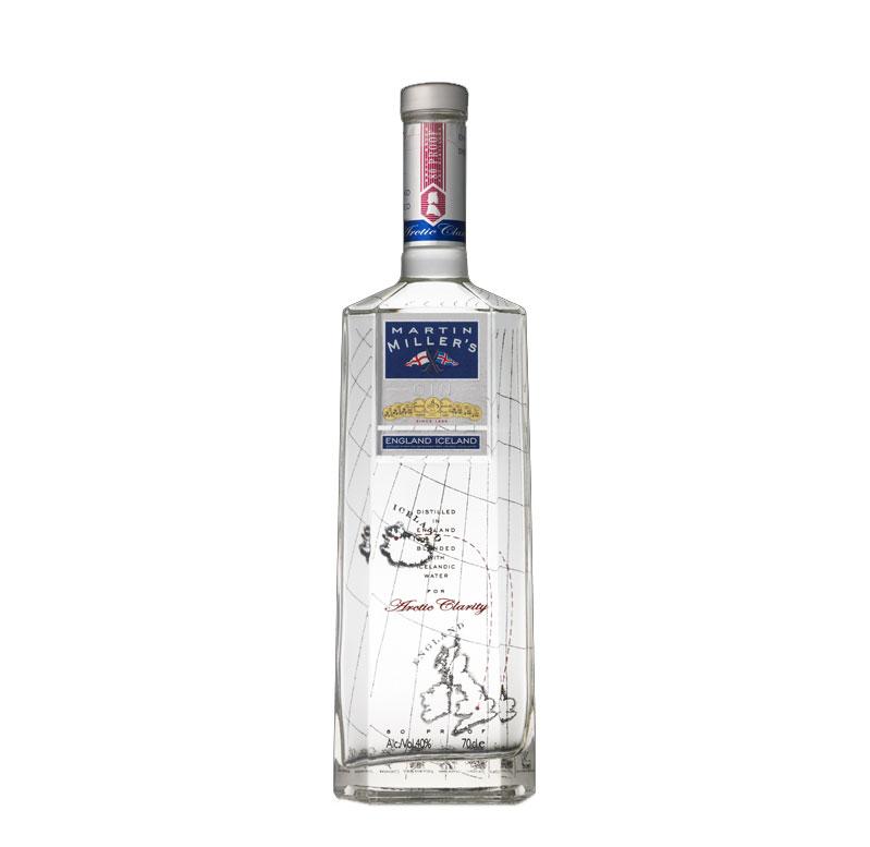 Martin Miller Original Gin 0,7L (40% Vol) England Iceland Gin - [Enthält Sulfite]