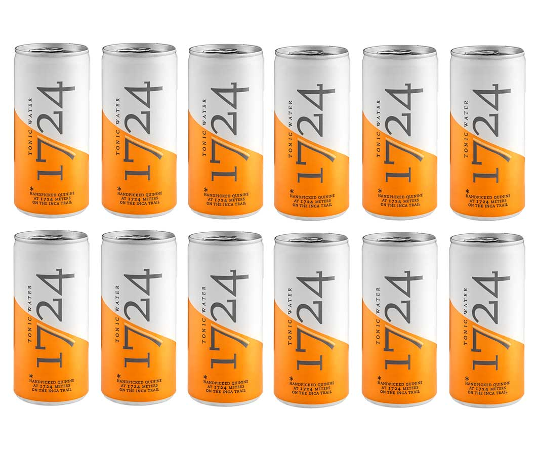 1724 Tonic Water 12er Set Dose 200ml inkl. Pfand EINWEG