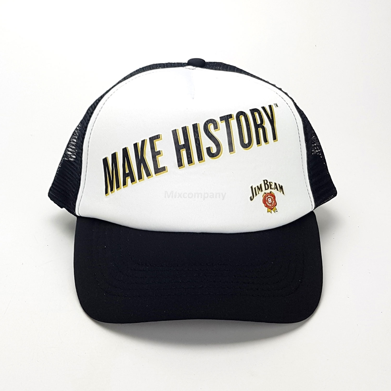 Jim Beam Make History Kappe Basecap Cap Mütze 100% Polyester