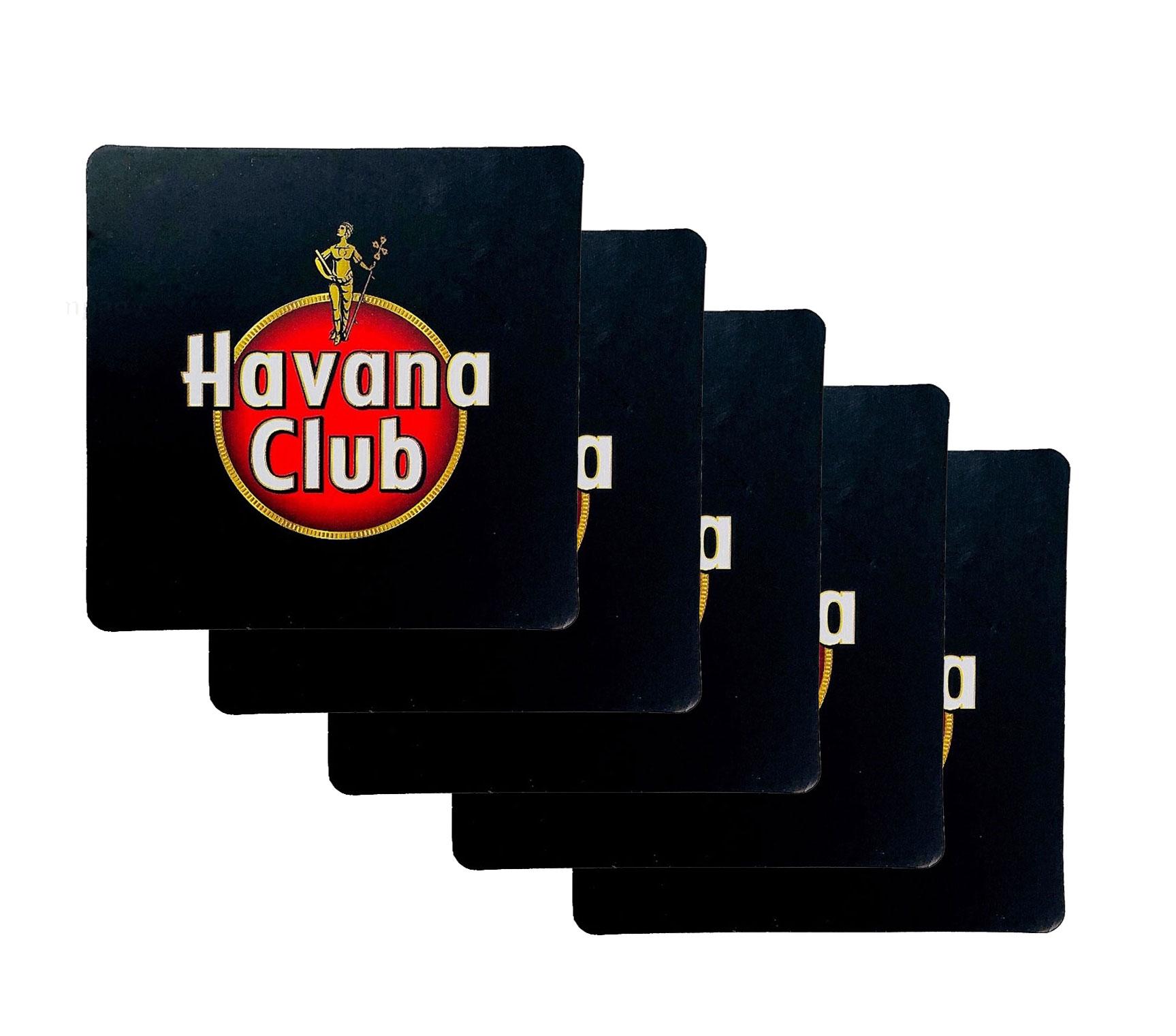 Havana Club Bierdeckel Untersetzer - 5er Set