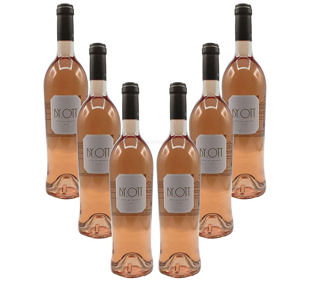 By. Ott - 6x Rose Wein - 6er Set Rosé Cotes des Provence - 6x 750ml (13,5% Vol)- [Enthält Sulfite]