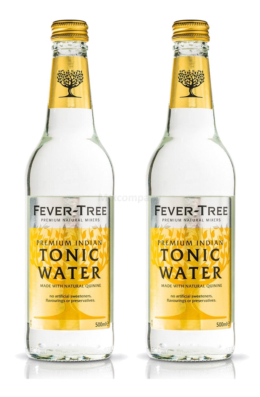 Fever-Tree Premium Indian Tonic Water 2x 500ml = 1000ml - Inkl. Pfand MEHRWEG