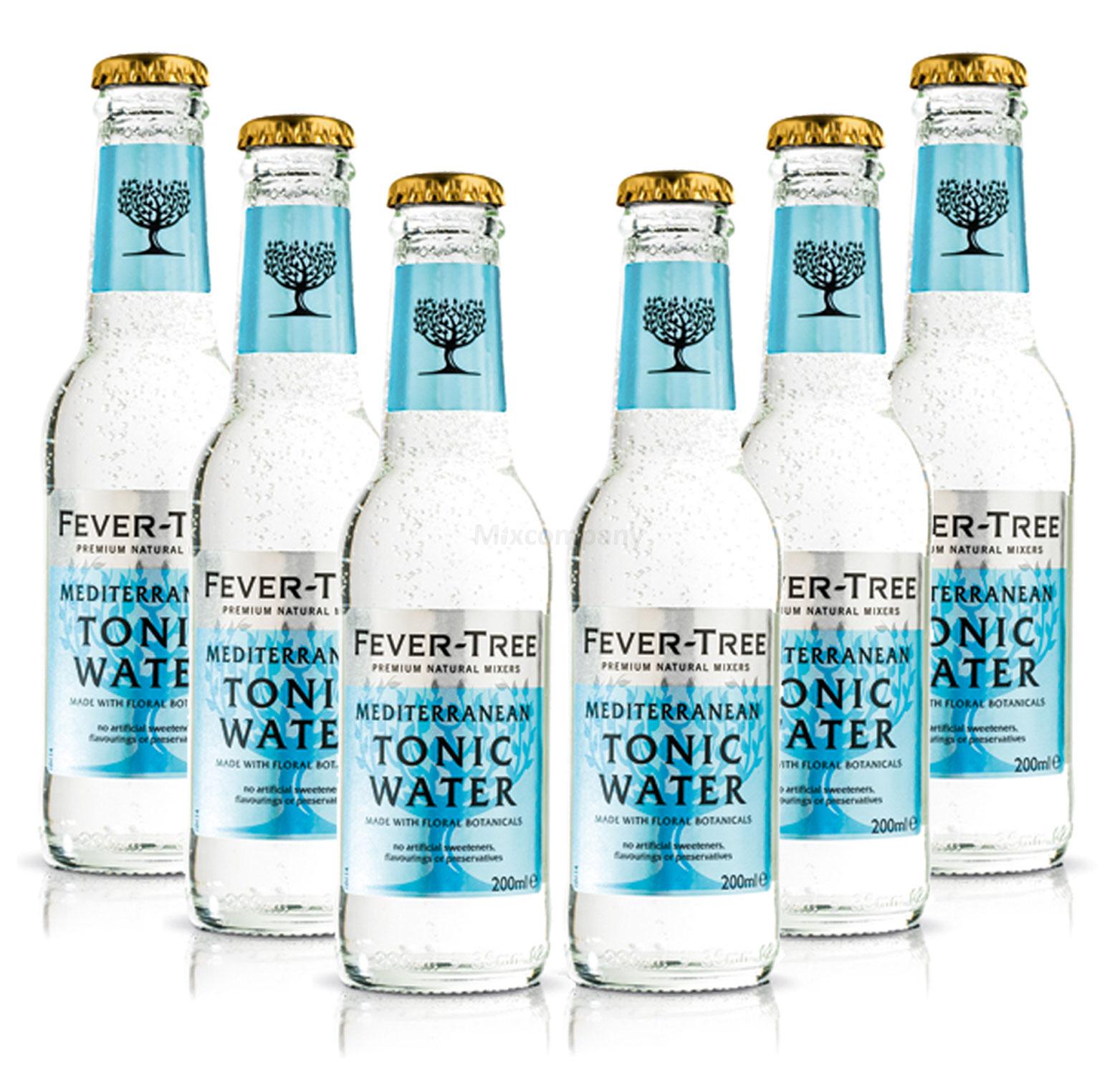 Fever-Tree Mediterranean Tonic Water Set - 6x 200ml inkl. Pfand MEHRWEG