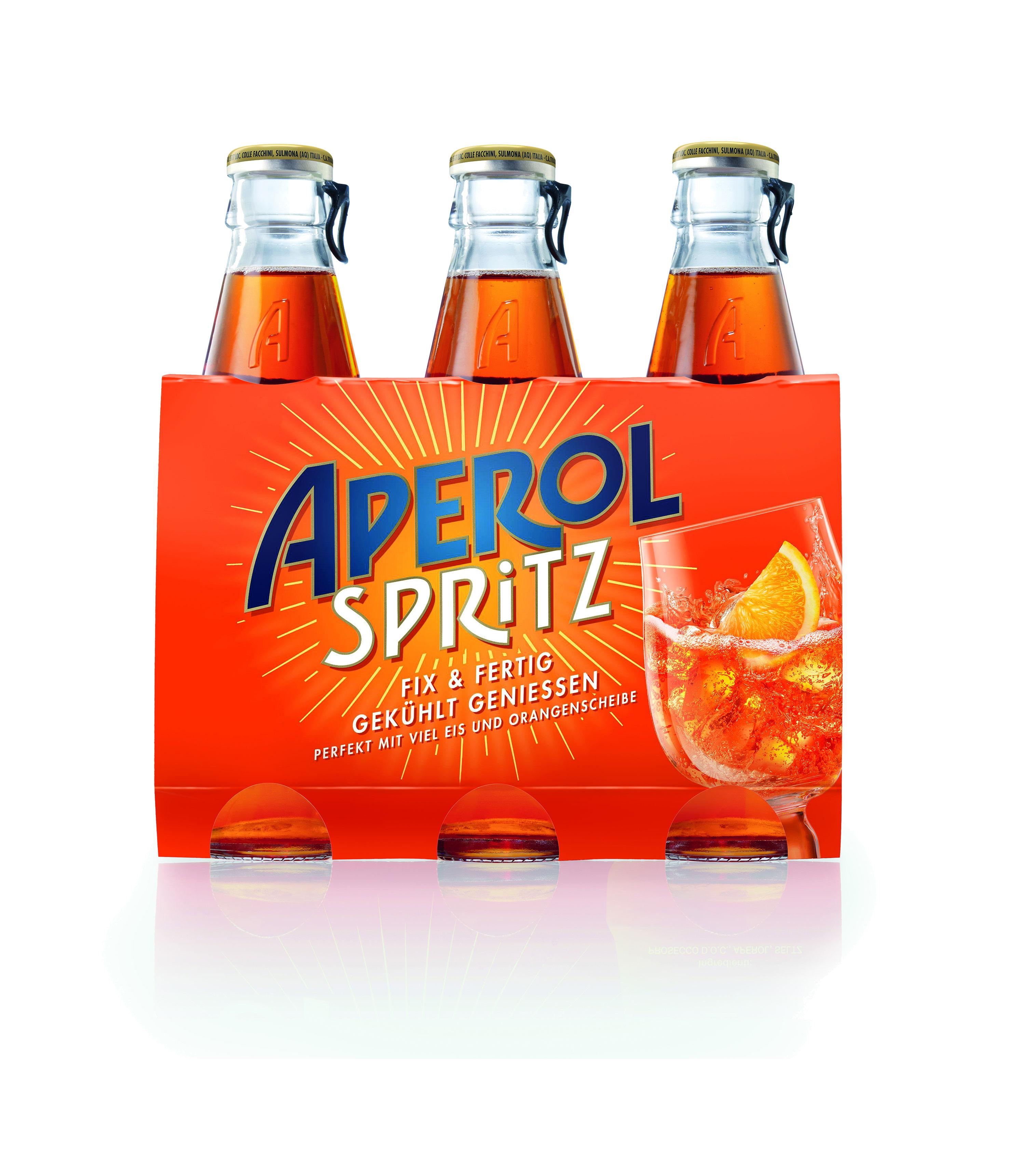 Aperol Spritz 3x 17,5cl (10,5% Vol) ready to drink Aperitivo / Aperitif - [Enthält Sulfite]