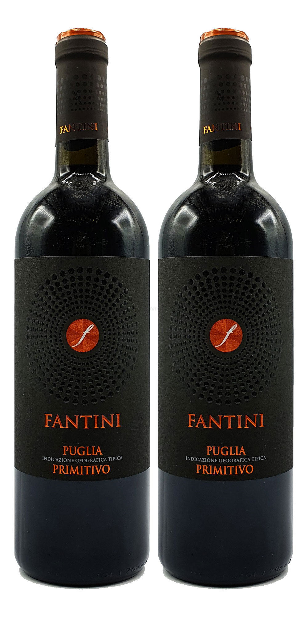 Farnese Fantini Puglia Primitivo 2er Set Rotwein aus Italien 2x 0,75L (14% Vol)- [Enthält Sulfite]