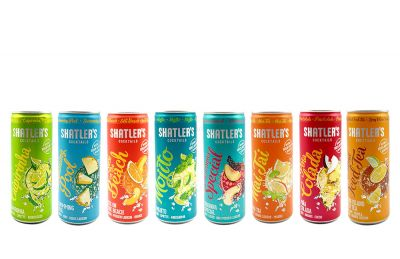 Shatlers Cocktail Mix Paket - 8 versch. Coktail Sorten : Long Island Iced Tea + Havanna Special + Pina Colada + Sex on the Beach + Mojito + Mai Tai + Swimmingpool + Caipirinha je 0,25L (10,1% Vol) ink. Pfand EINWEG- [Ent
