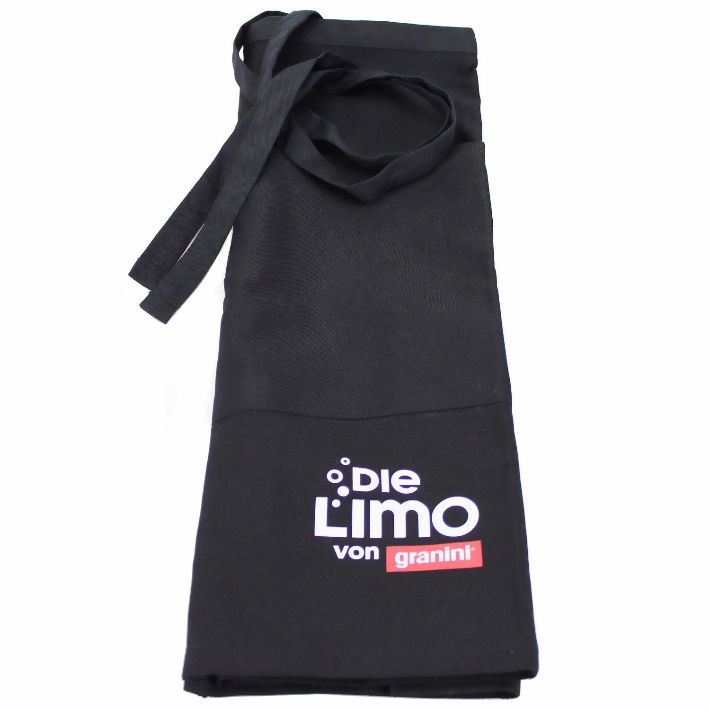 Granini Die Limo Schürze / Barschürze / Kellnerschürze - schwarz
