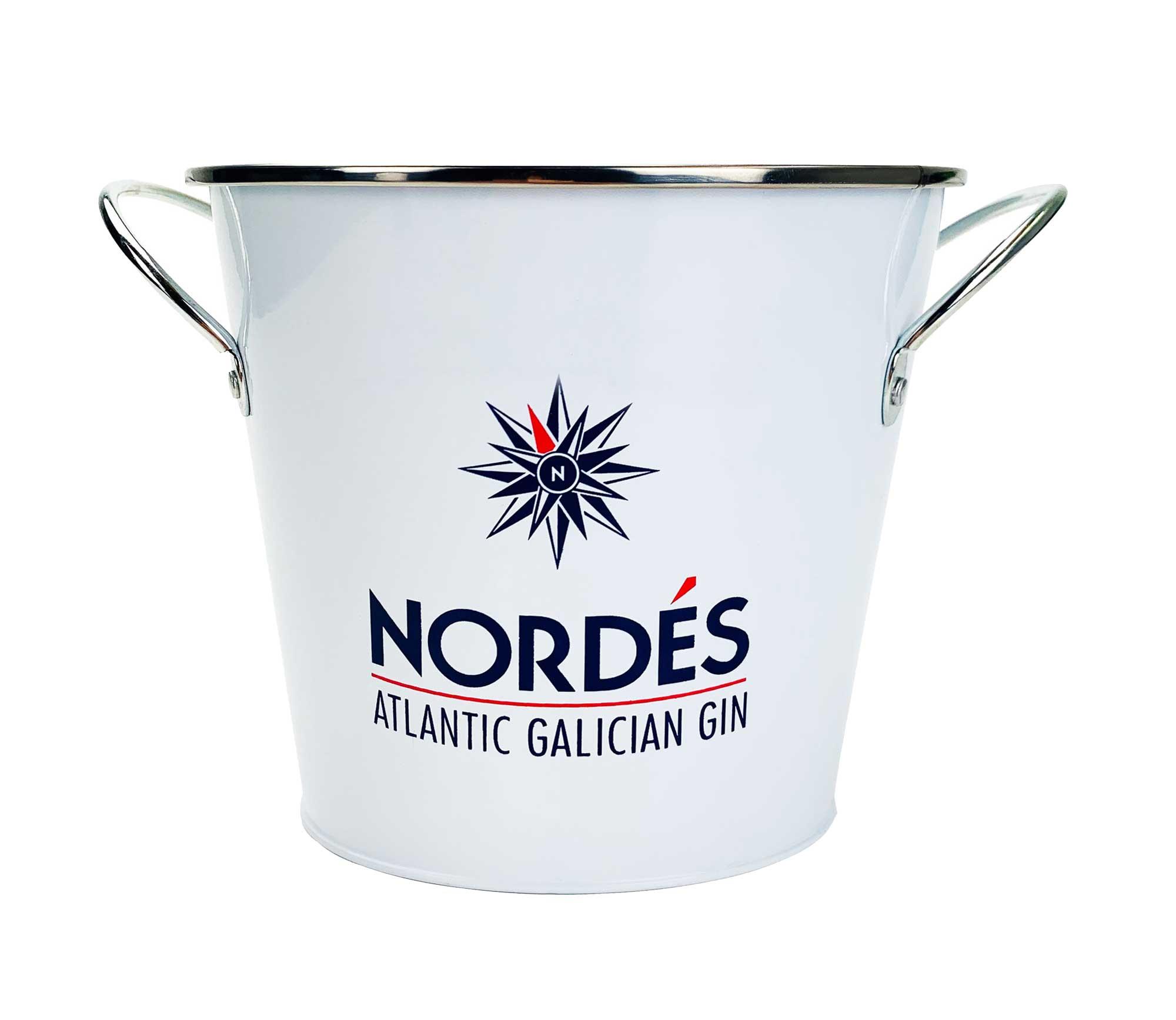 Nordes Atlantic Galician Gin Eimer Flaschenkühler Eiskühler Getränkekühler Eisbox