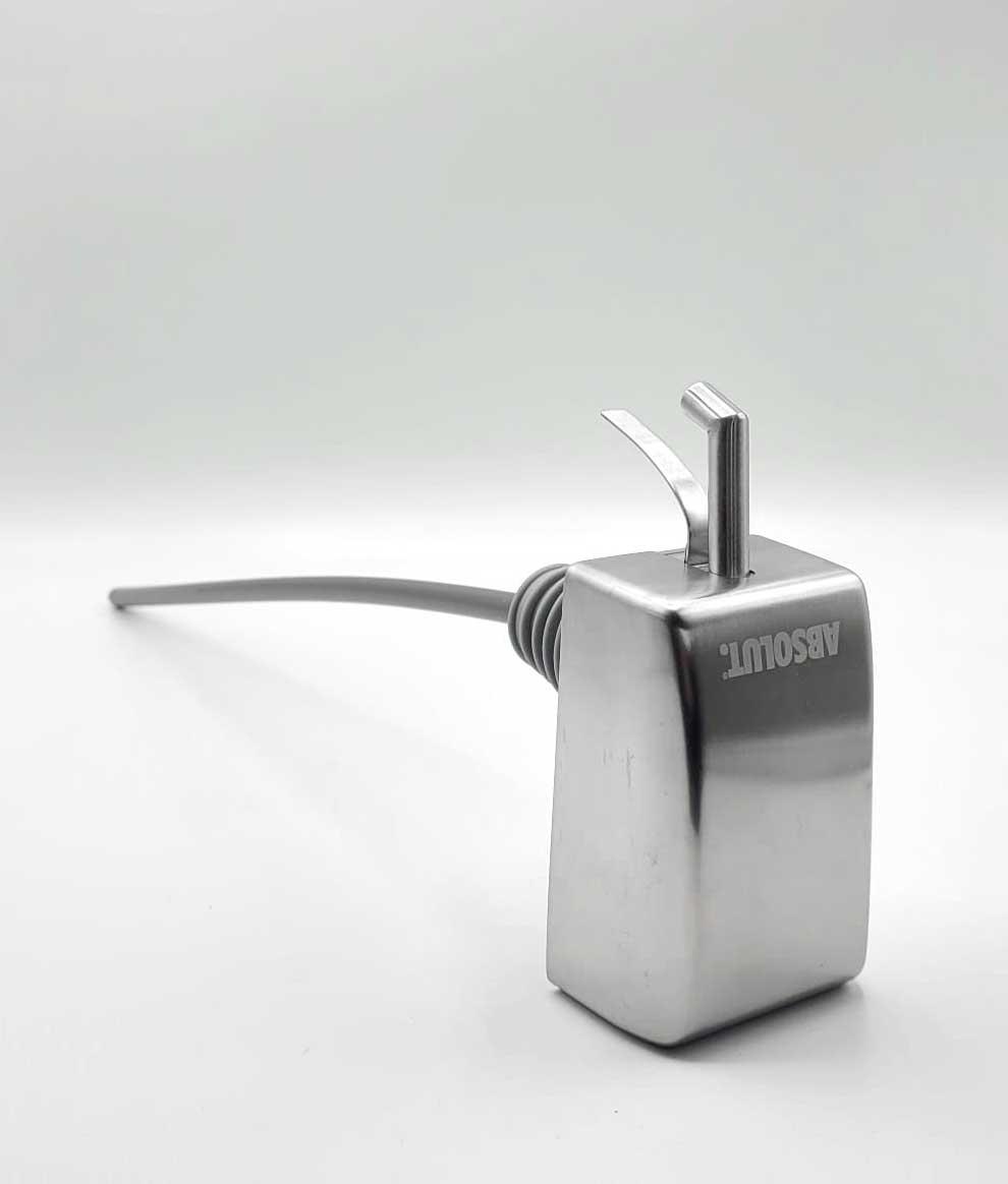 Absolut Vodka 3L Magnum elektrische Pumpe Dosierer