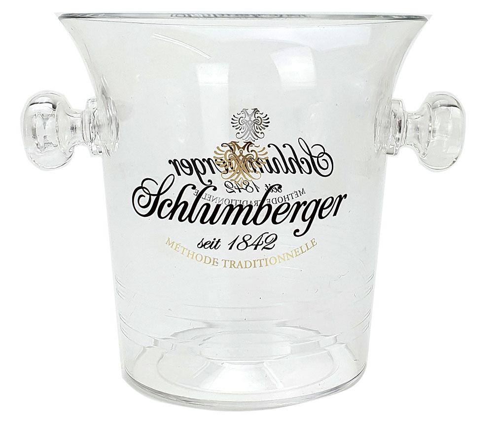 Schlumberger Kühler - Flaschenkühler / Champagnerkühler / Minikühler / Eisbox für 1 Champagnerflasche