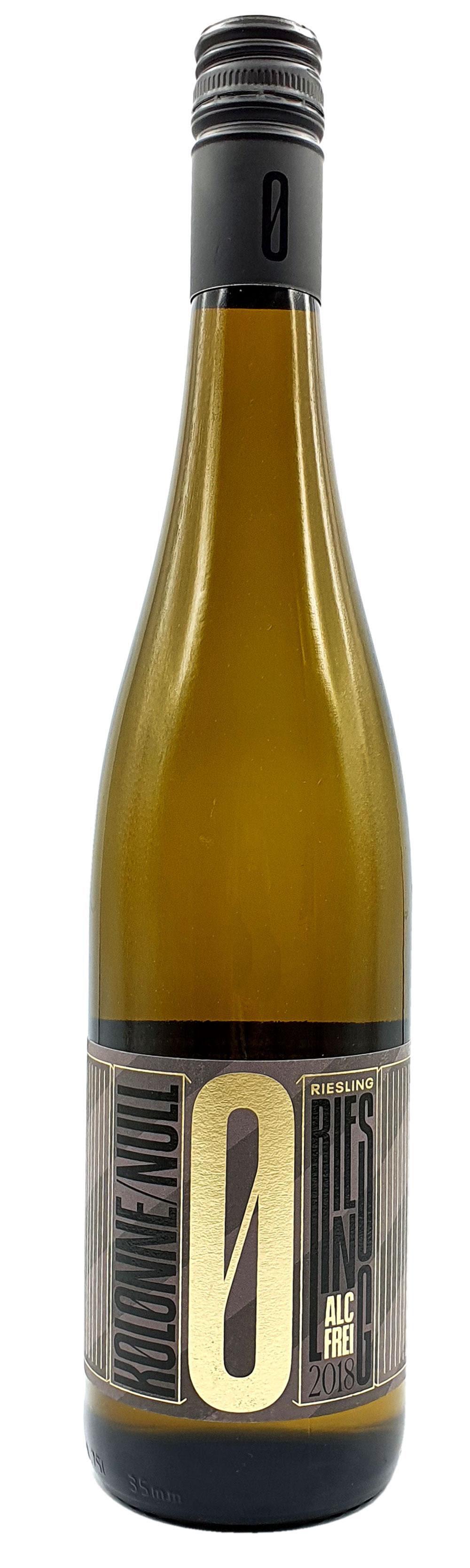 Kolonne Null - 0% Alkohol - Riesling mit Drehverschluss - Alkoholfreier Riesling 0,75L- [Enthält Sulfite]