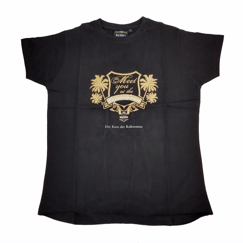 Batida T-Shirt schwarz - Größe L Material :100% Baumwolle